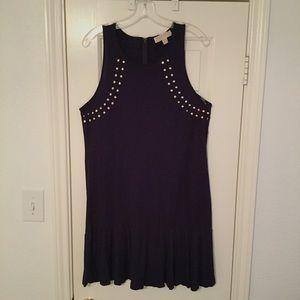 Michael Kors: Blue Studded Dress